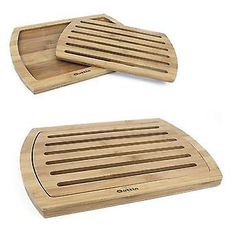 Placa de pão de bambu Quttin (36 x 25 x 1,8 cm)
