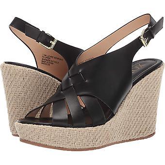 Xoxo Womens XO191910 Leather Open Toe Casual Espadrille Sandals