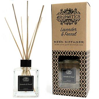 Lavender & Fennel Essential Oil Reed Diffuser 200ml