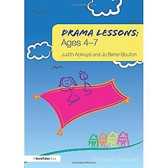 Drama lessen: Leeftijden 4-7
