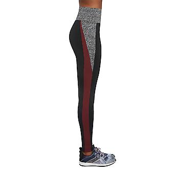 Bas Black Women's Extreme -Grey-Burgundy Jambiere
