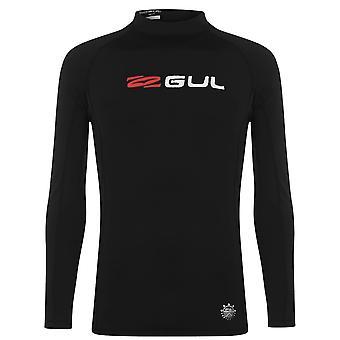 Gul Mens Long Sleeve Rash Vest Crew Neck Lightweight Waterproof Top