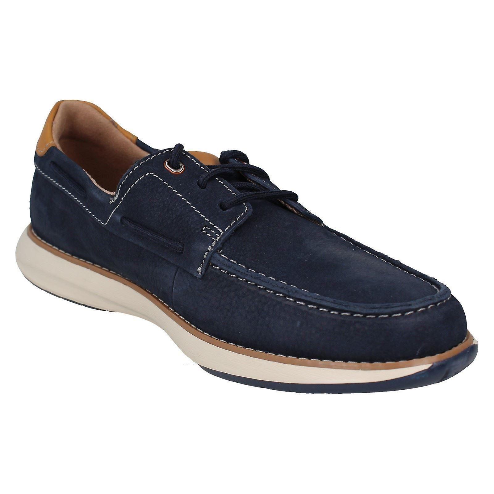 Mens Unstructured By Clarks Lace Up Casual Shoes Un Pilot