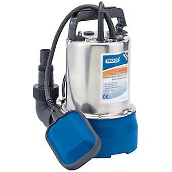 Draper 25359 100L/Min 250W Edelstahl Tauchpumpe Wasser Pumpe Schwimmerschalter