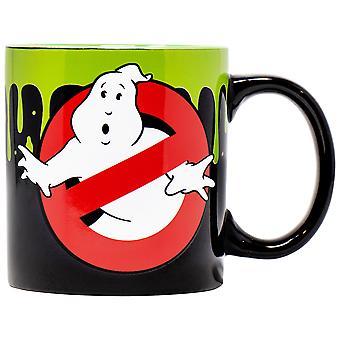 Ghostbusters Who Ya Gonna Call? Slime 20 Ounce Mug