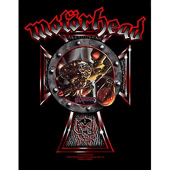 Motorhead Back Patch Bomber band logo new Official (36cm x 29cm)