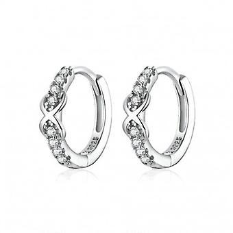 Silver Earrings Infinity - 6593