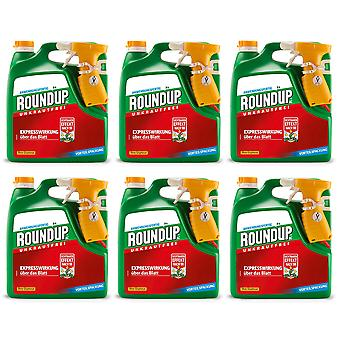 Sparset: 6 x ROUNDUP® AC, 3 litres
