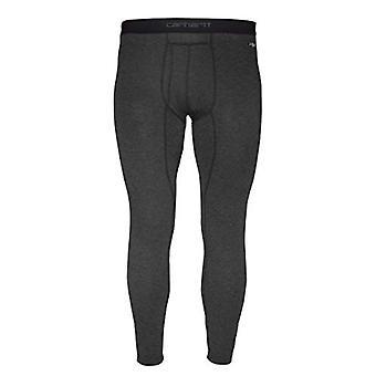 Carhartt Men's Force Heavyweight Thermal Base Layer Pant, Black Heather, Medium