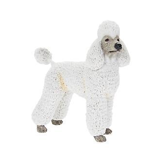 White Poodle Dog Ornament