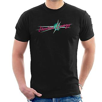 Jem And The Holograms Showtime Synergy Text Men's T-Shirt