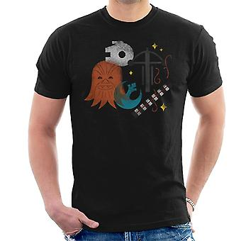 Star Wars Rebel Alliance Chewbacca miesten ' s T-paita