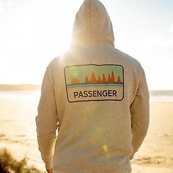 De palmerkap van de passagier