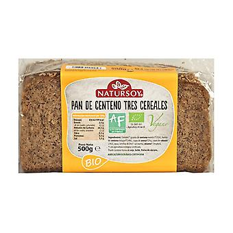 Three Cereal Rye Bread 500 g