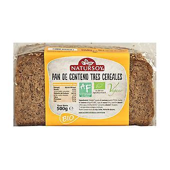 Kolme viljaruisleipää 500 g