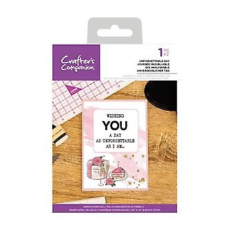 Crafter's Companion Unforgettable Day Clear Stamps