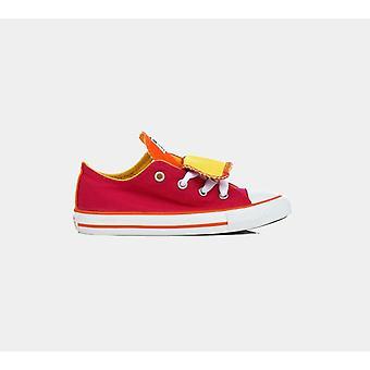 كونفيرس Ct Dbl Tng Ox بيري الوردي الرضع 747701C أحذية الأحذية