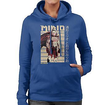 Mirio Togata Kanji Frauen's Kapuzen-Sweatshirt