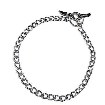 HS Sprenger Chrome Plated Steel Butterfly Dog Collar
