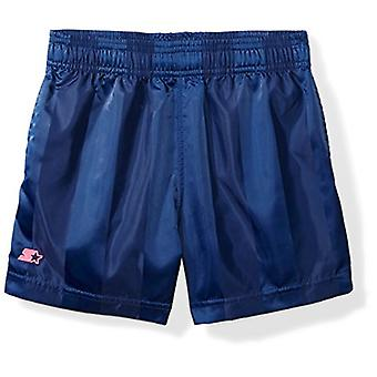Starter Girls-apos; 3-quot; Soccer Short, Exclusive, Team, Team Navy, Size Large