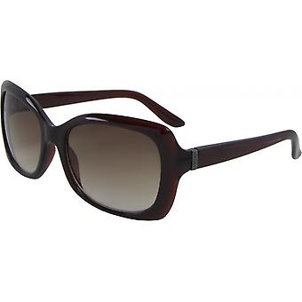 Gafas de sol Unisex Wayfarer Kat. 3 marrón/marrón (6145-A)