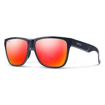 Aurinkolasit Unisex Lowdown XL 2 polarisoitu syvä muste/punainen