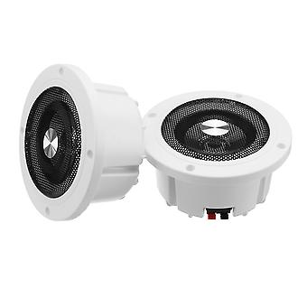 5.2-inch 60w Round Ceiling In-wall Home Audio Speakers System, Flush Mount