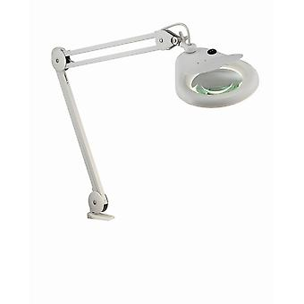 1 Light Indoor Clamp Table Lamp White