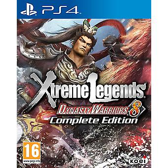 Dynasty Warriors 8 Xtreme Legends - Complete Edition PS4 Game