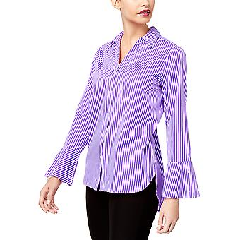 NY Collection | Striped Embellished Blouse