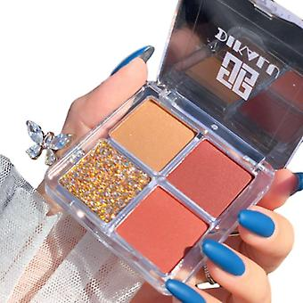 Eye Shadow Palette Glitter Pearlescent Waterproof Natural Makeup
