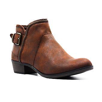 American Rag | Edee Faux Leather Block Heel Booties
