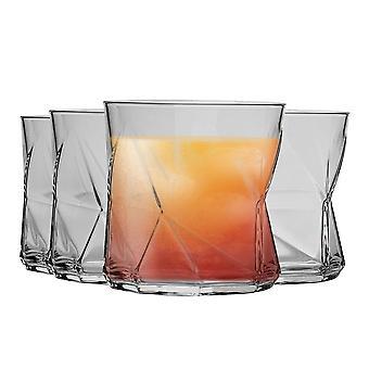 Bormioli Rocco Cassiopea Tumbler Glasses - 330ml (11.25oz) - Set of 4