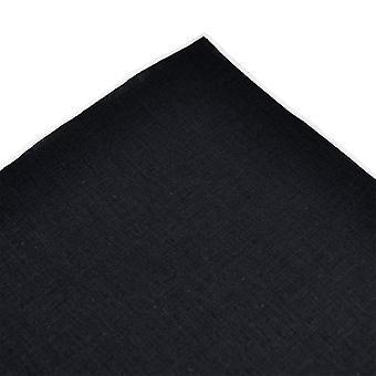 Krawatten Planet Tresanti Marine blau mit weißen Rand Leinen Tasche Quadrat Taschentuch
