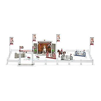Schleich Horse Club Big Horse Show with Horses Toy Figure (42338)