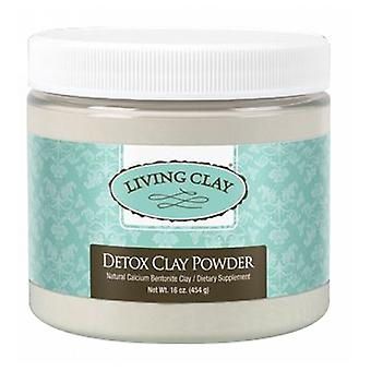 The Living Clay Co Detox Clay Powder, 16 oz