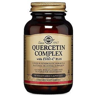 Solgar Quercetin Komplex mit Ester-C Plus Gemüsekapseln, 50 V Kapseln