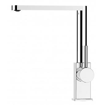 Kitchen Single-lever Sink Mixer With High Swivel Spout - 69