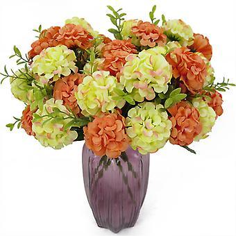 Kunstig blomst Simulering Hortensia Bukett