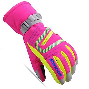 Marsnow Winter Professional Ski Gloves- Girls / Boys Adult Waterproof Warm