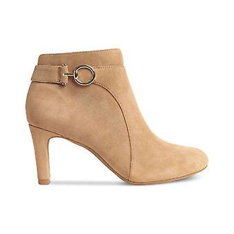 Bandolino Womens Longo Leather Round Toe Ankle Fashion Boots