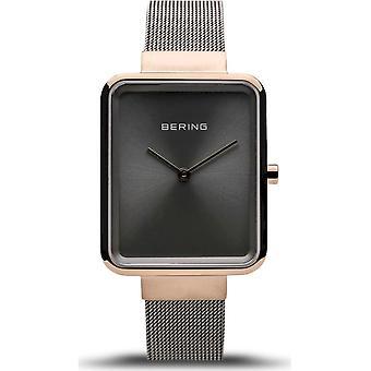 Bering - Wristwatch - Ladies - Classic - grey polished/brushed - 14528-369