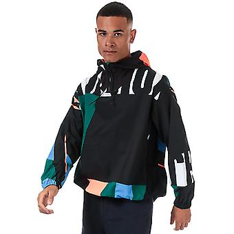 Y-3 men's swim aop multicoloured jacket