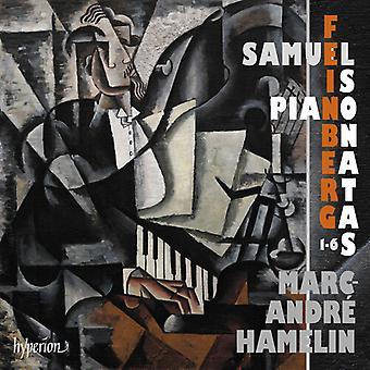 Feinberg: Piano Sonatas Nos.1-6 [CD] USA import