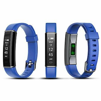 Aquarius AQ113 Fitness Tracker With Heart Rate Monitor- Blue