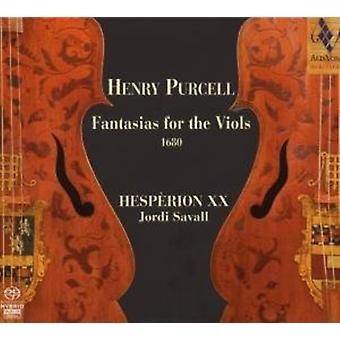 H. Purcell - Henry Purcell: Fantasias for Viols [SACD] USA importen