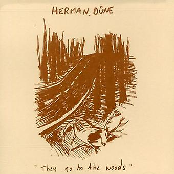 Herman Dune - They Go to the Woods [CD] USA import