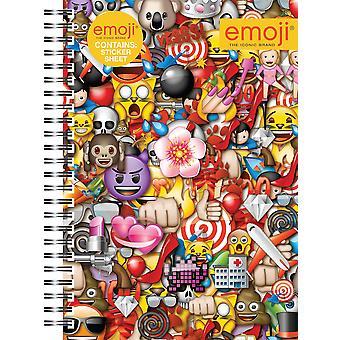 Emoji a5 soft cover notebook, assorted, 29.7x21x2 cm