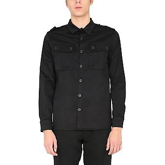 Ma.strum Mas3325m000 Men's Black Cotton Shirt