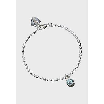 Kalevala Bracelet Women's Fountain Silver Topaz 2566561TO175 - Length 500 mm